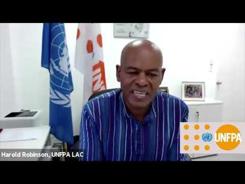 Día Internacional de la Juventud 2020 - Mensaje del Director Regional de UNFPA LAC, Harold Robinson