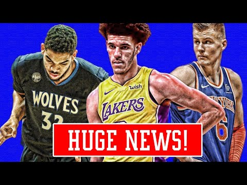 LONZO GETTING STRONGER! TOWNS TRADE UPDATE! PORZINGIS ALMOST TRADED! | NBA NEWS