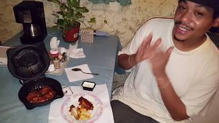 Pizza Hut Wingstreet Traditional Wings Honey BBQ Review