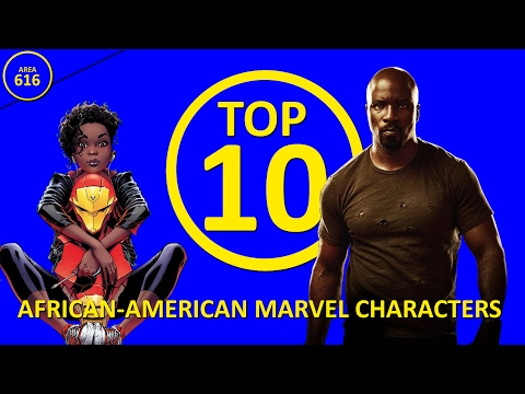 Top 10 African-American Marvel Characters