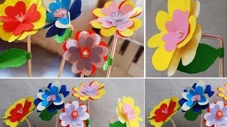 DIY: Paper Flowers | Super Easy DIY | Paper Craft | DianaTA