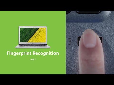 Acer l Fingerprint Recognition