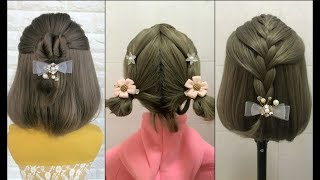 Top 30 Amazing Hairstyles for Short Hair 🌺 Best Hairstyles for Girls Part 4