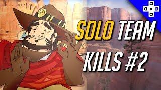 Overwatch Solo Team Kills #2 - Landing that Team Kill