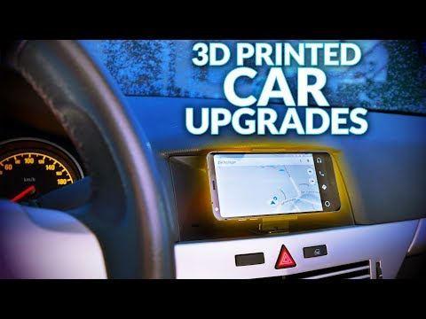 Solving problems with 3D printing: Upgrade your car! - YouTube