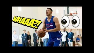 Ben Simmons DOMINATES a Pickup Basketball Game In Australia