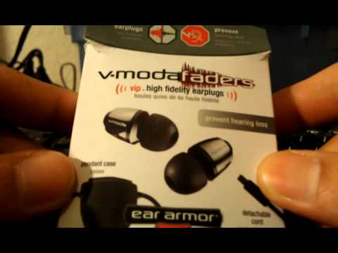 DJ Tips and Reviews - Protect Your Hearing with V-Moda Faders ear armor/ear plugs full review Mp3