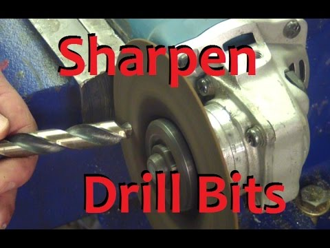 Sharpen Drill Bits WITHOUT a Drill Doctor?!