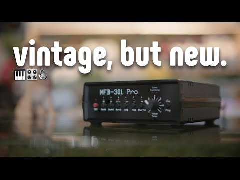 MFB 301 Pro: The (new) 40-Year-Old Drum Machine