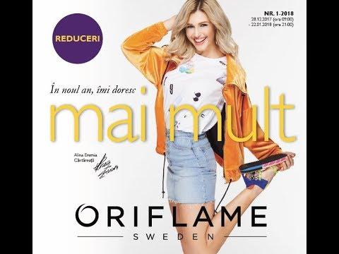 Oriflame Catalog C1 2018 Ianuarie познавательные и прикольные