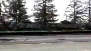 The transportation of new Tanks & armored vehicles in California.World War 3 is about to take place!