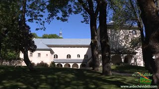 Ardèche - L'abbaye Notre-Dame des Neiges