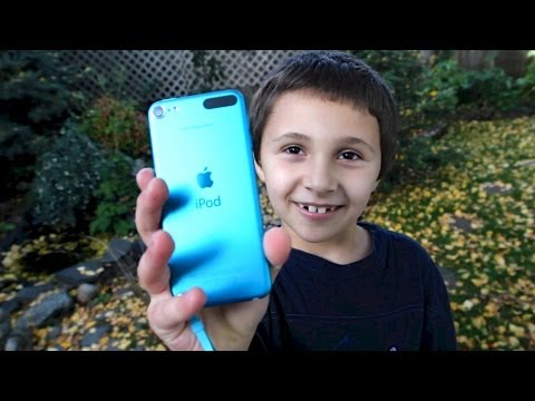 A Kid's First Impression of the New iPod Touch 5