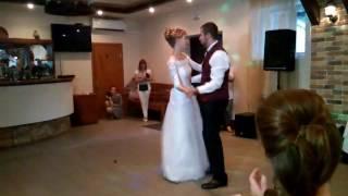 Танец молодых. Свадьба Анастасии и Владимира.