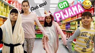 Video BROMAS / RETOS EN LA CALLE | ¡SALIMOS EN PIJAMAS! 😱 download MP3, 3GP, MP4, WEBM, AVI, FLV September 2018