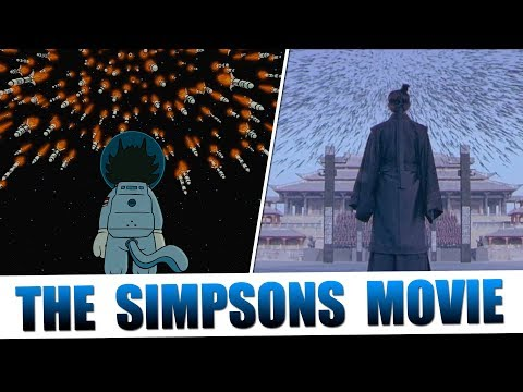 The Simpsons Movie's Tribute To Cinema