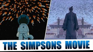 The Simpsons Movie's Tribute to Cinema