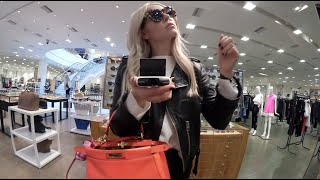 One of HRH COLLECTION's most viewed videos: HRH VLOG #6!! Barneys, Dressing Room, Driving, Low Cal Snack, LIFE!!