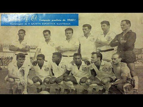 Taubaté 1x6 Santos - 04/12/1960 - Pepe, o gol 5 mil da história!