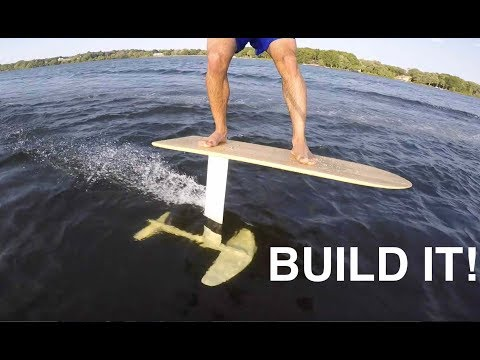 THE EASIEST SURF/SUP HYDROFOIL BUILD!