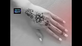 Тату на руке образец рисунка для Мехенди/202/Tattoo on the hand sample picture for Mehendi