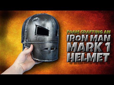 Foam Crafting an Iron Man Mark 1 Helmet