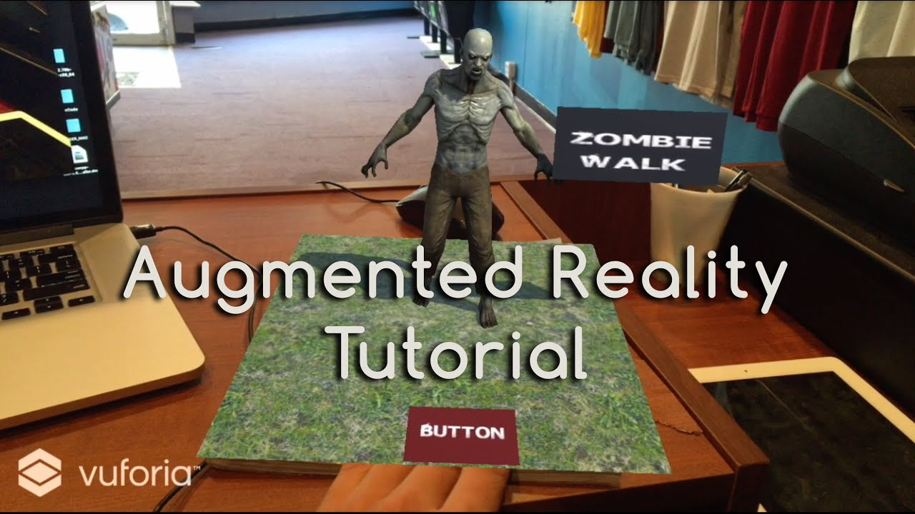 How to Augmented Reality Tutorial: Virtual Buttons: 7 Steps