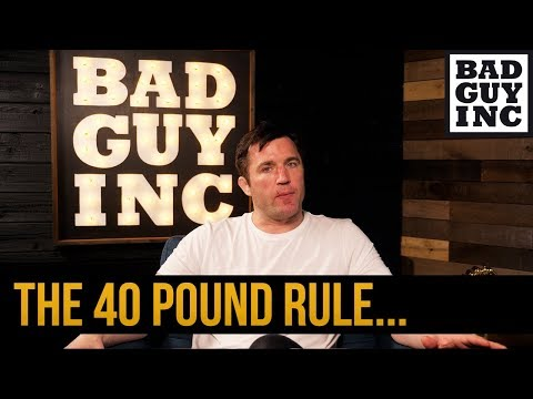 Do you know about the '40 Pound' rule?
