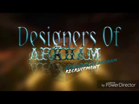 Designers of Arkham Recruitment! | Gfx Group |