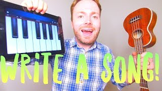 HOW TO WRITE A SONG! (CHORD PROGRESSIONS TUTORIAL)!