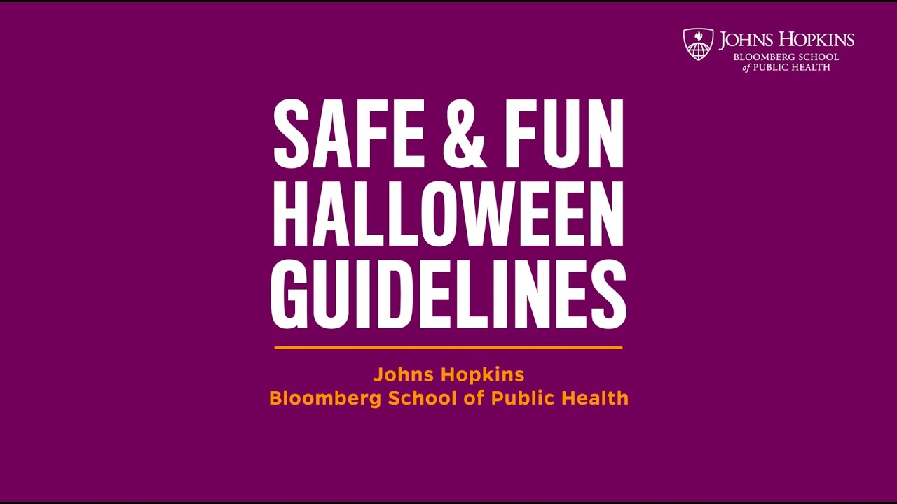 Staying Safe While Participating In Trick-or-Treating As Coronavirus ...