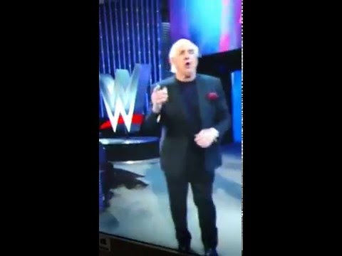 Ric Flair being the man at 66!
