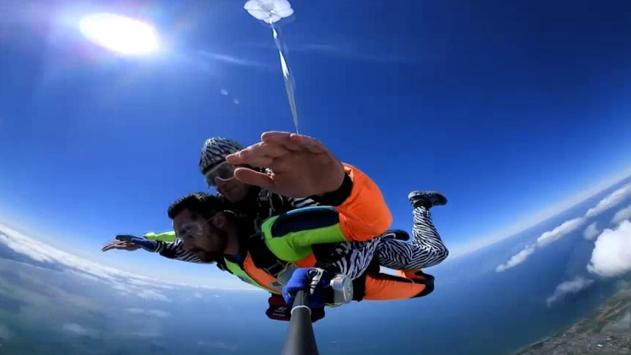 saut en parachute 360 degres