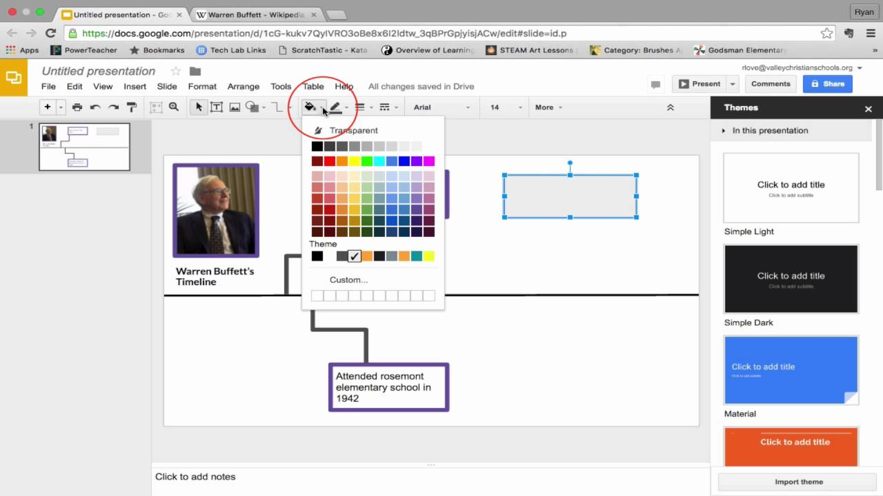 Timeline google slides youtube for Timeline in google slides