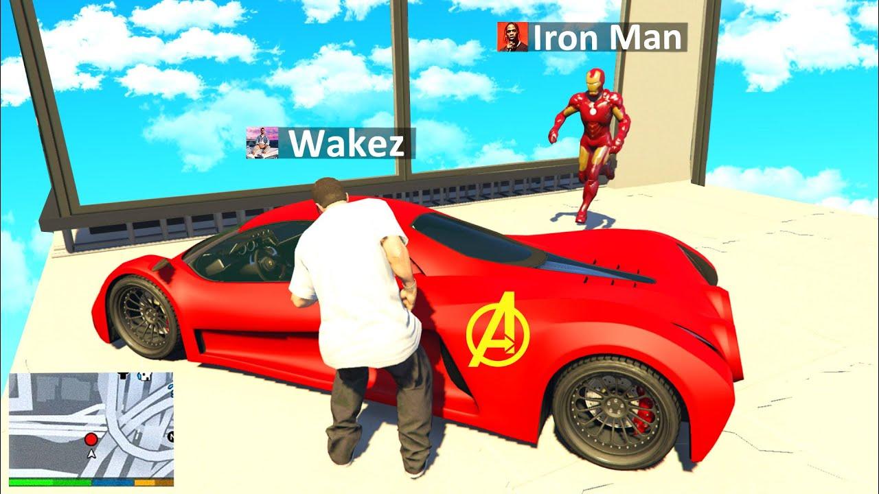 ÜBERFALL auf IRON MAN AUTO in GTA 5 RP!