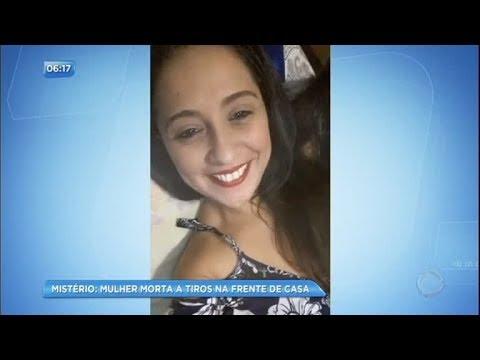 Operadora de telemarketing é morta a tiros na porta de casa