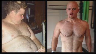 Dave's 176lbs Weight Loss Transformation - Photos & Video