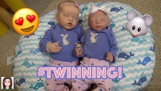 Changing Reborn Babies Sailor and Wren!