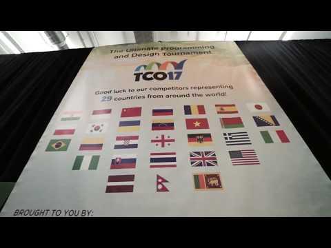 TCO17 Finals Promo Video