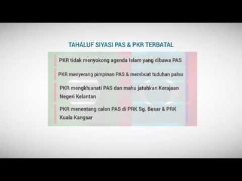 |Video] Tahaluf Siyasi PAS-PKR Terbatal - Majlis Syura Ulama PAS