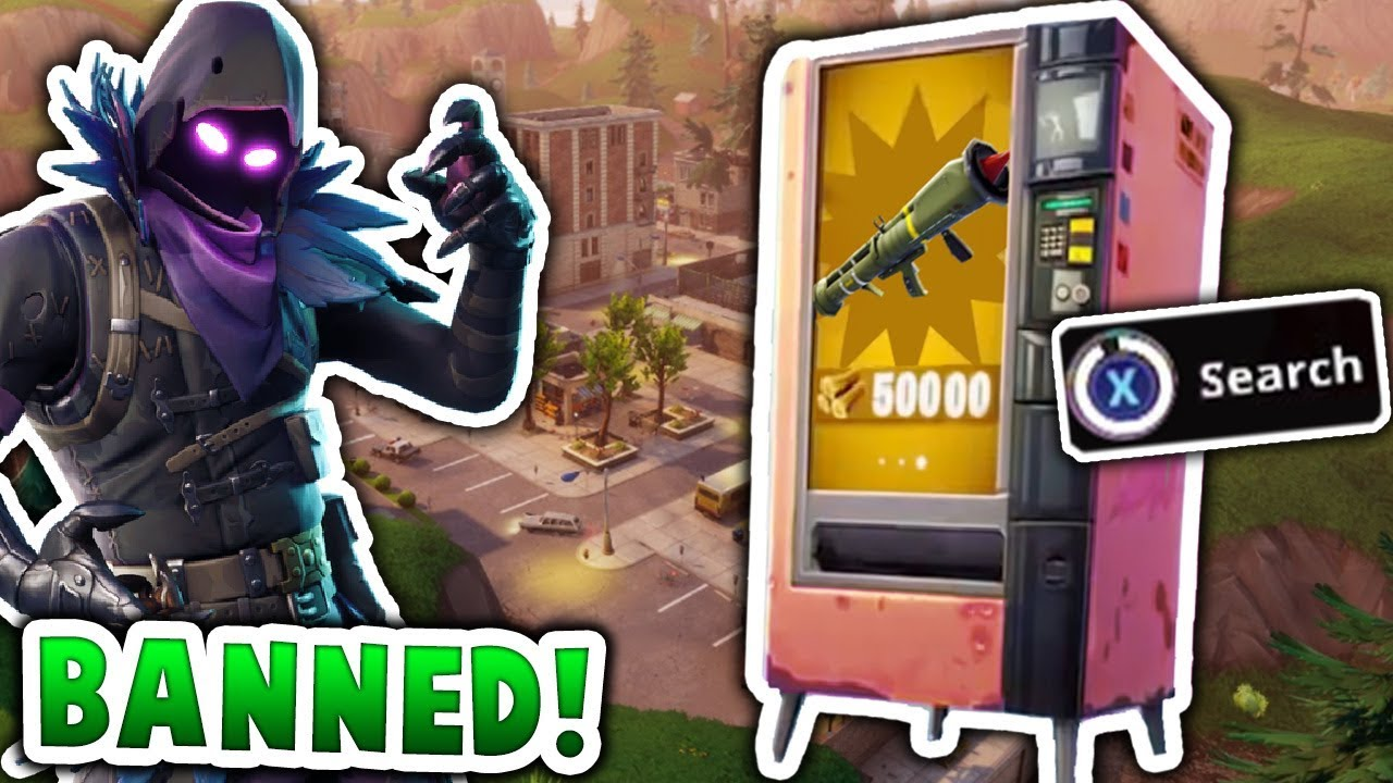 The VENDING MACHINE Should Be BANNED In Fortnite Battle