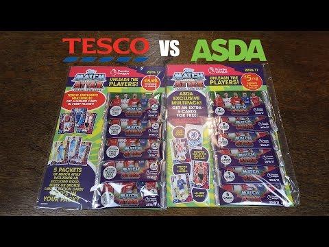 NO AGUERO? Match Attax 2016/17 Multipacks - Tesco & Asda Exclusives