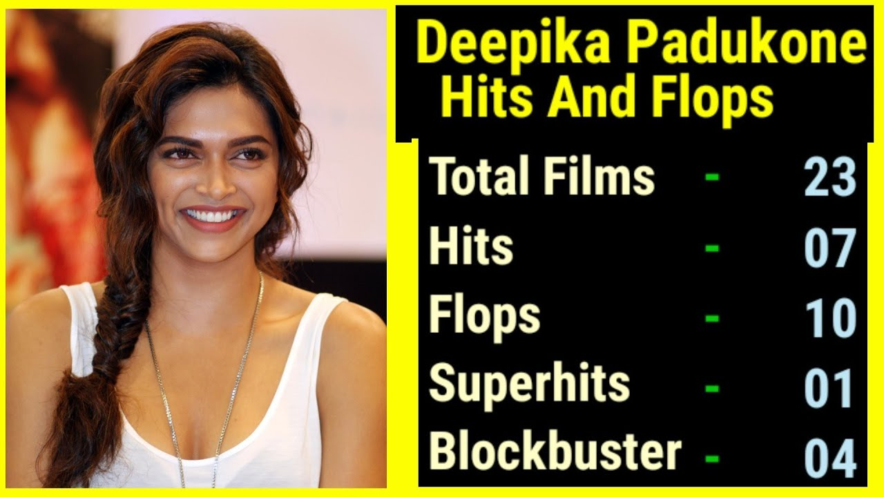 Deepika Padukone All Movies Hit Flop Box Office Collection ...