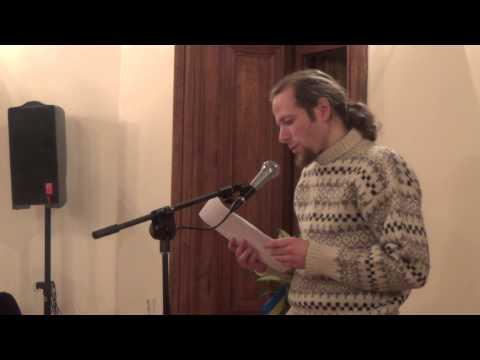 Marius Burokas skaito Oleho Kocarevo eilėraščius