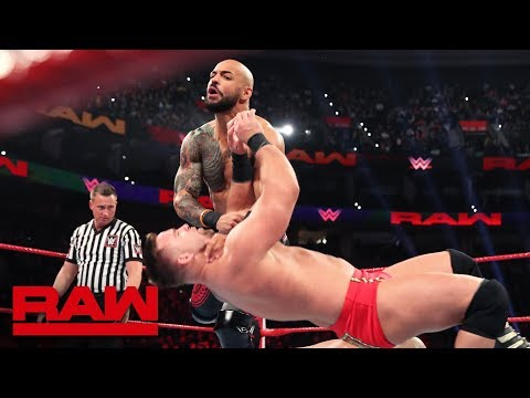 The Revival vs. Ricochet & Aleister Black - Raw Tag Team Championship Match: Raw, March 4, 2019