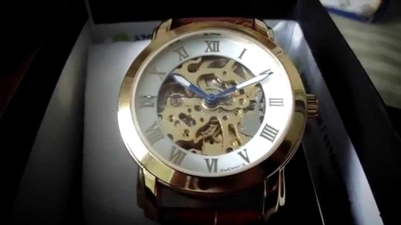 08280163f9c Reloj automático corazón abierto- Automatic watch - YouTube