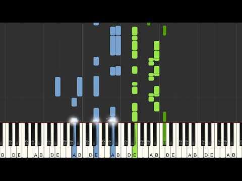 Ed Sheeran - Galway Girl Piano Cover  Tutorial