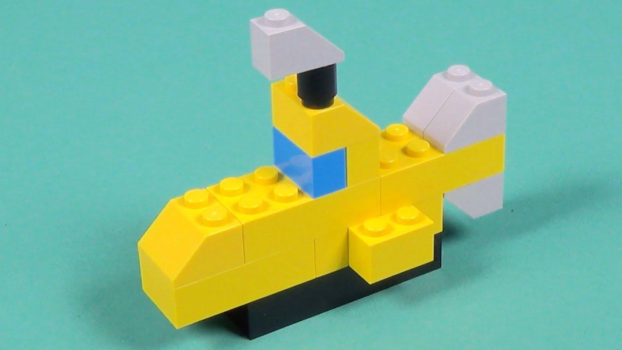 Lego Submarine Building Instructions Easy Build Lego Classic