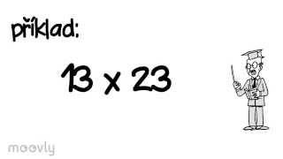 Násobení velkých čísel bez kalkulačky