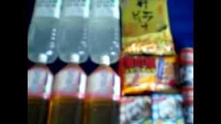 関西グルメ・大阪ランチ ヨリトモ御用達 http://lastscene.com/kansai-gourmet/ everything price is 100 yen and if you buy 1000 yen you get one more thing free.